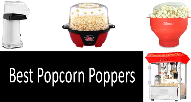Best Poppers 2019 TOP 5 best popcorn poppers from $15 to $150 in 2019 | Buyer's Guide