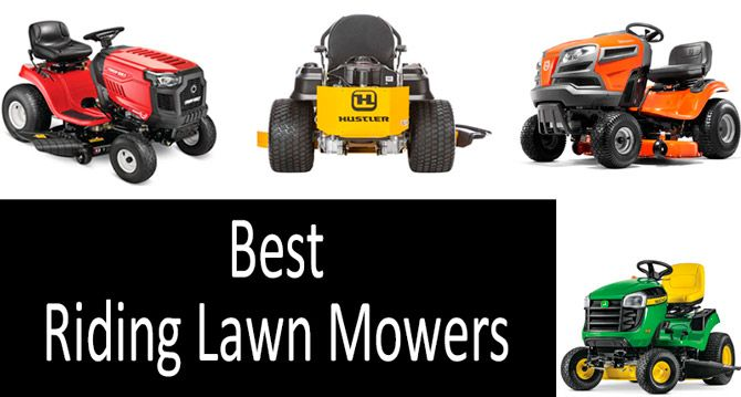 Best Riding Lawn Mowers: photo