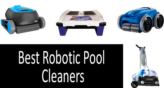 TOP-5 best robotic pool cleaners in 2019 | Buyer's Guide