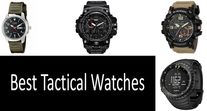 Best Tactical Watches: photo