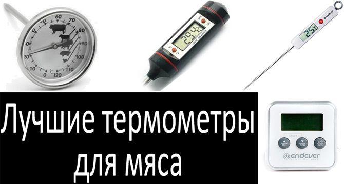 Лучшие термометры для мяса: фото