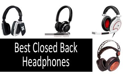 Best Closed Back Headphones min: photo