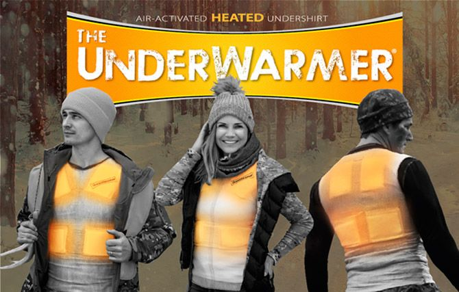 HEATED UNDERSHIRT from UnderWarmer: photo