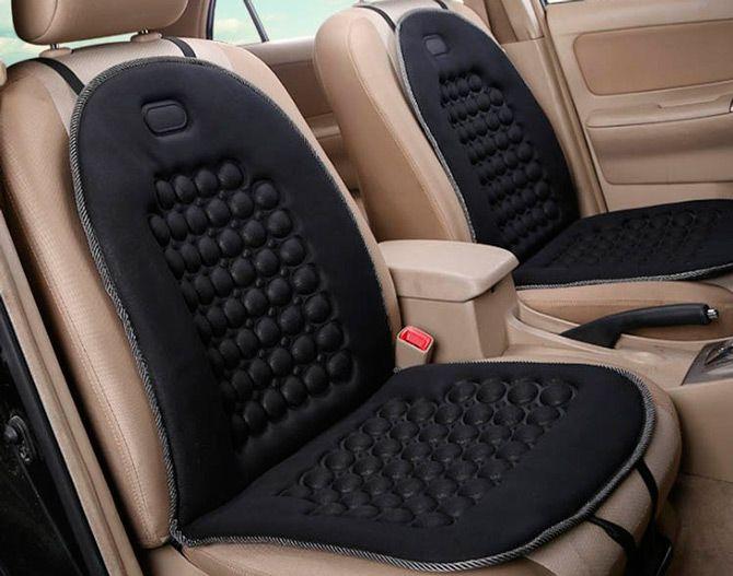 Best car seat massagers: photo