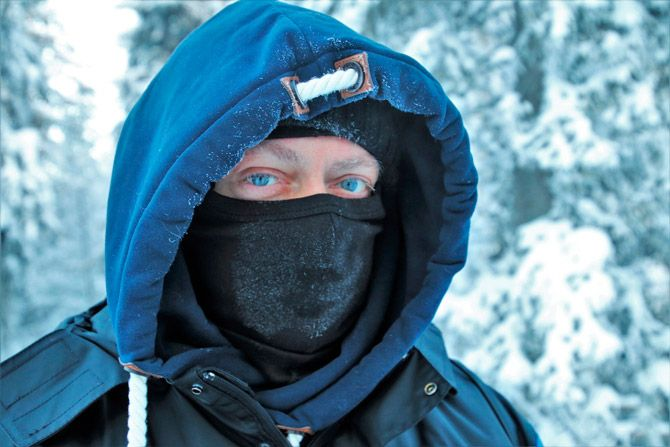 Best cold weather face masks: photo