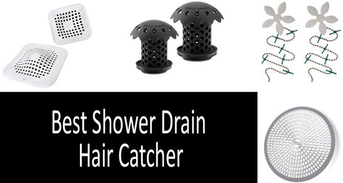 Best shower drain hair catcher: photo