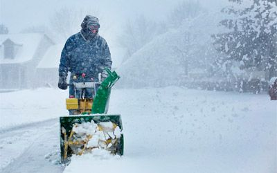 best 2 stage snow blowers min: photo