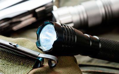 Best tactical flashlights min: photo