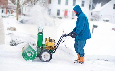 Best gas snow blowers min: photo