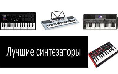 Лучшие синтезаторы min: фото