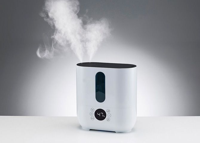 Cool /& Warm Mist Humidification Polardo Ultrasonic Air Humidifier