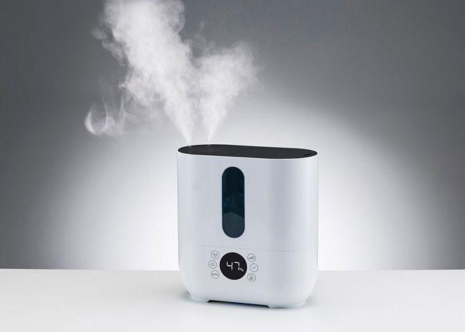 Best warm mist humidifiers: photo
