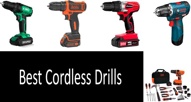 Best Cordless Drill: photo