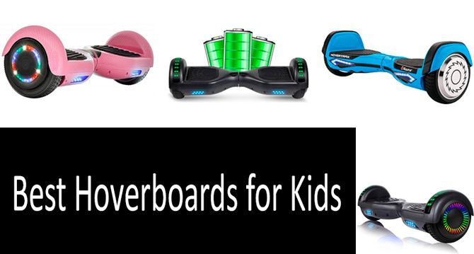Best hoverboards for kids: photo