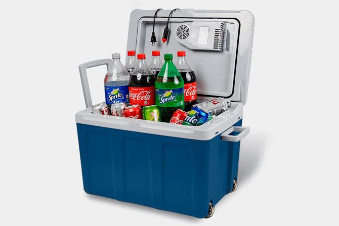 Best electric coolers: photo