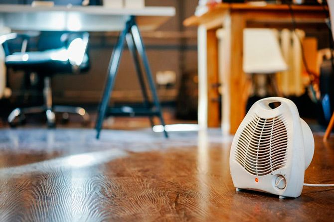 Best portable heaters: photo