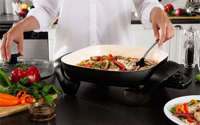 Best electric skillets min: photo