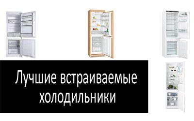 Лучшие встраиваемые холодильники min: фото
