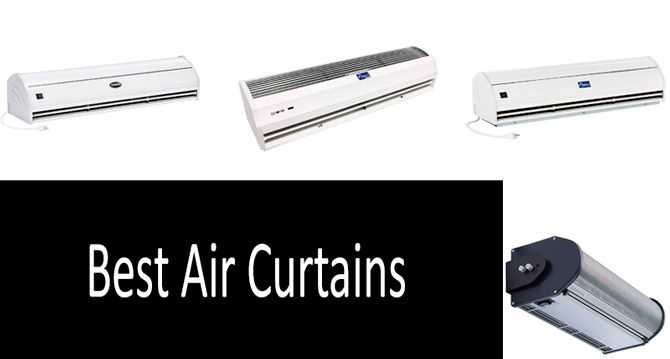 best air curtains in 2021 easy to use