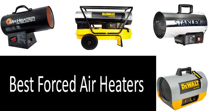 Best forced air heaters: photo