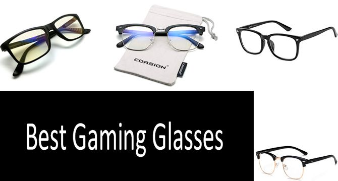 Best gaming glasses: photo