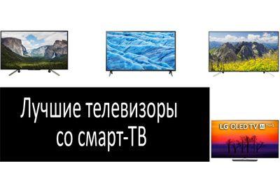 Лучшие телевизоры со смарт-ТВ min: фото