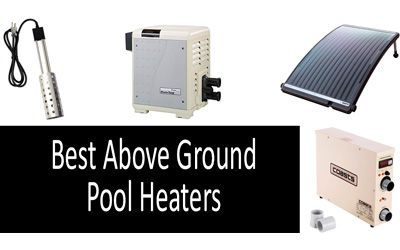 Best above ground pool heaters min: photo