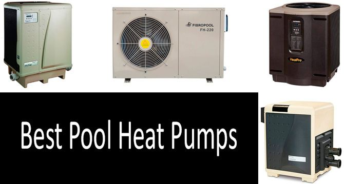Best pool heat pumps: photo