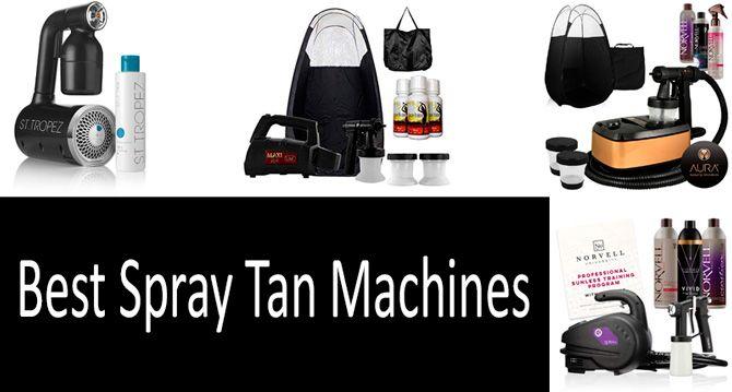 Best spray tan machines: photo