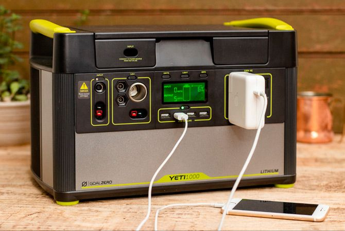 Best portable power stations: photo