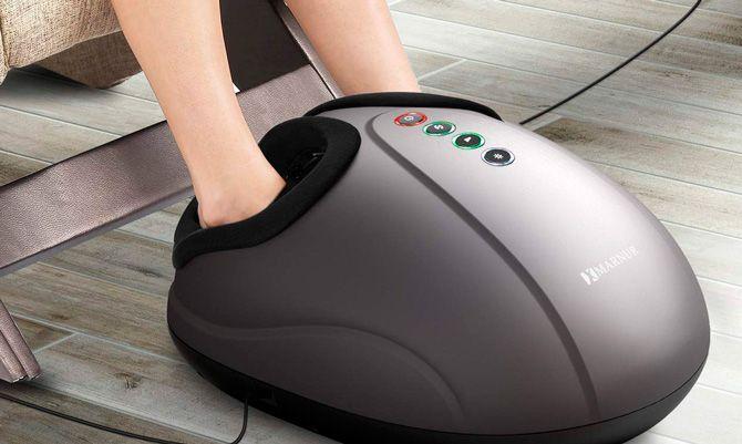 meilleurs appareils de massage des pieds: photo