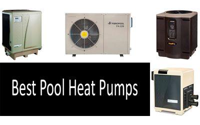 Best pool heat pumps min: photo