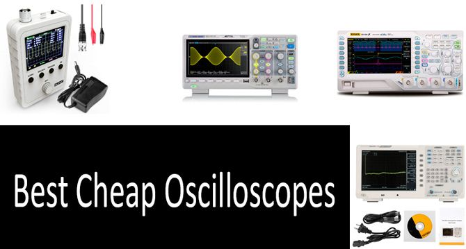 Best cheap oscilloscopes: photo