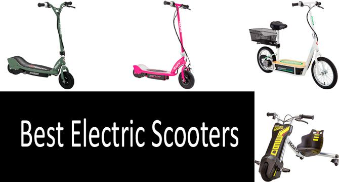 Best electric scooters: photo