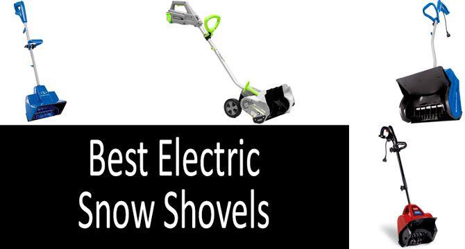 Best electric snow shovels: photo