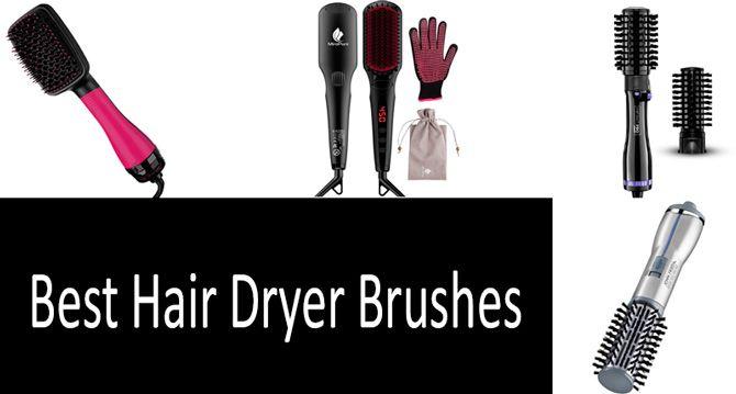 Best hair dryer brushes: photo