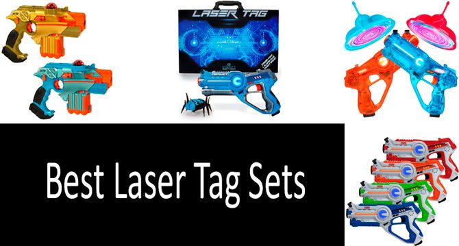 Best laser tag sets: photo