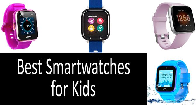 Best smartwatches for kids: photo