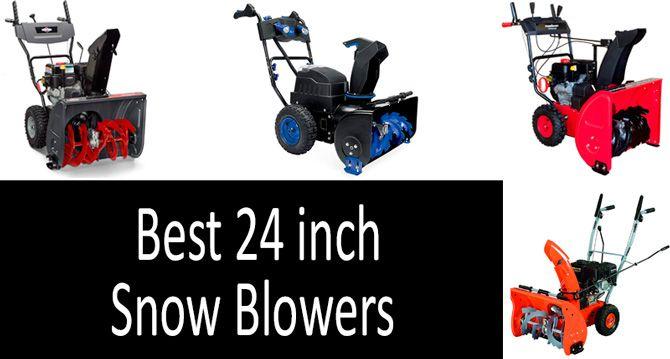 24 inch snow blowers: photo