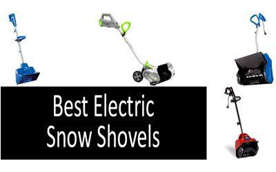 Best electric snow shovels min: photo
