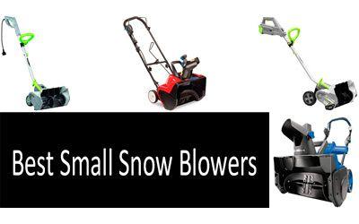 Best small snow blowers min: photo