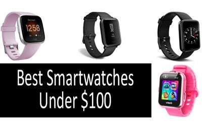 Best smartwatches under 100 min: photo