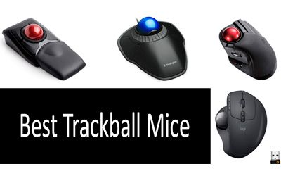 Best wireless trackball mouses min: photo