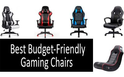 Best budget gaming chairs min: photo