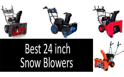 24 inch snow blowers min: photo