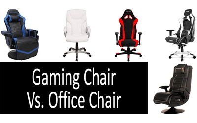 Gaming Chair vs Office Сhair min: photo