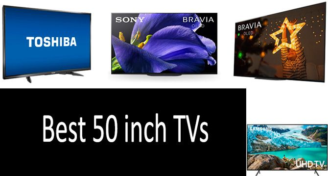 Best 50 inch TVs: photo