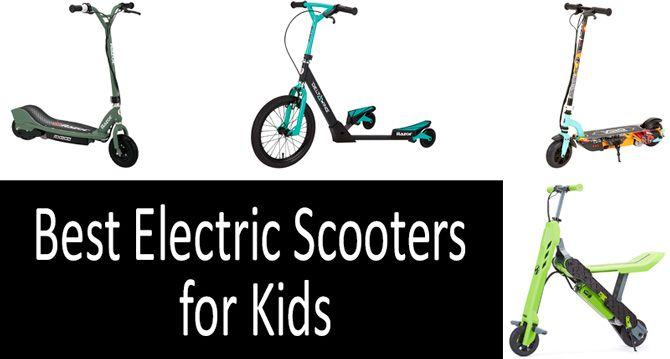 Best electric scooters for kids: photo