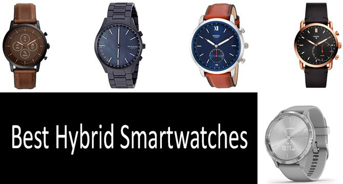 Best hybrid smartwatches: photo