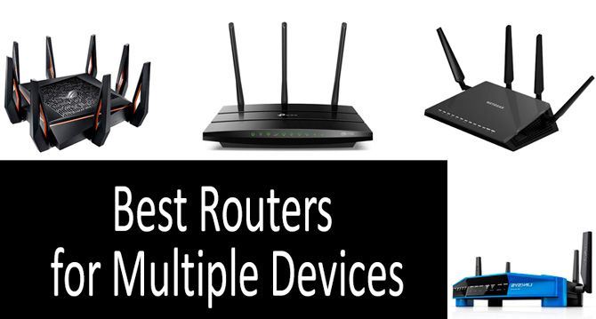 Best routers for multiple devices: photo